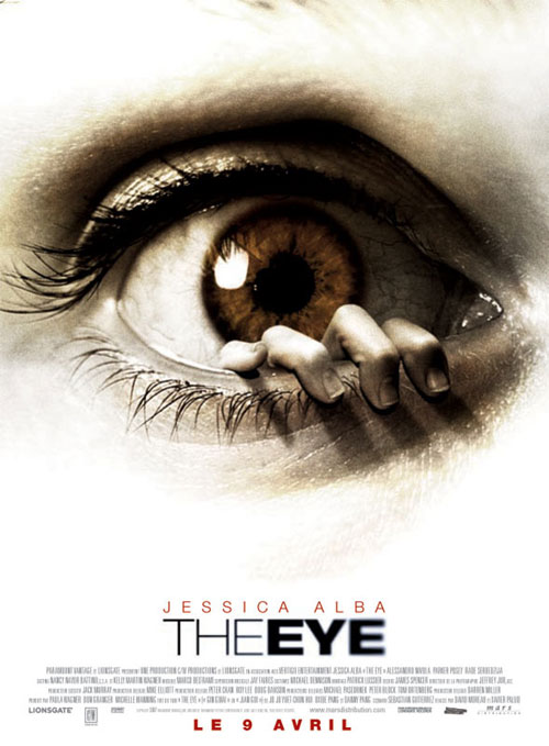 Affiche française de 'The Eye'