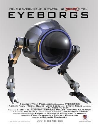 Us poster from the movie Eyeborgs