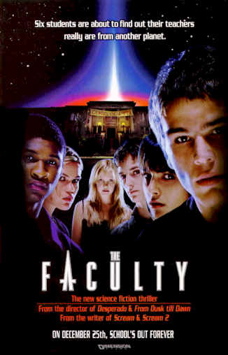 Us poster from the movie The Faculty