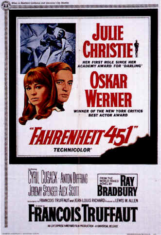 Unknown poster from the movie Fahrenheit 451