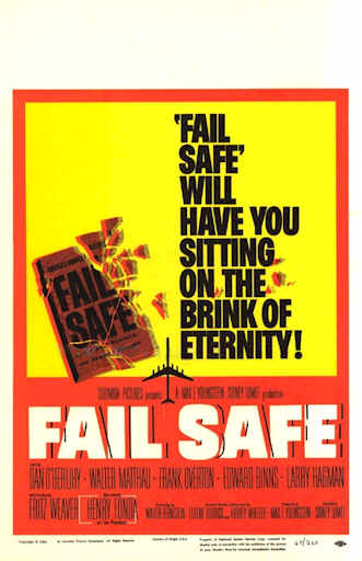 a review of fail safe a movie by sidney lumet Read the empire review of fail-safe  112 minutes movie  but sidney lumet  has a knack of wringing suspense from scenes in which men in.