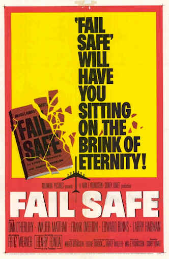 Us poster from the movie Fail-Safe