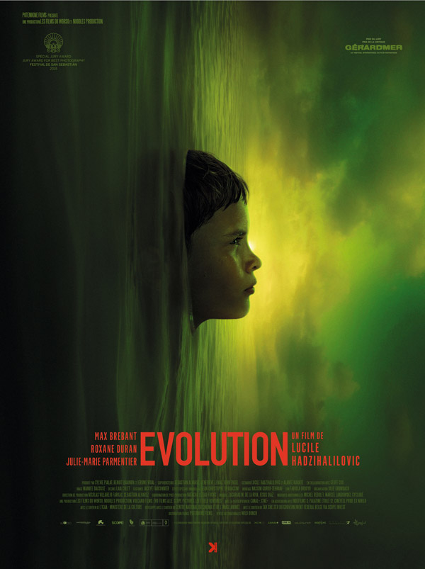 French poster from the movie Evolution