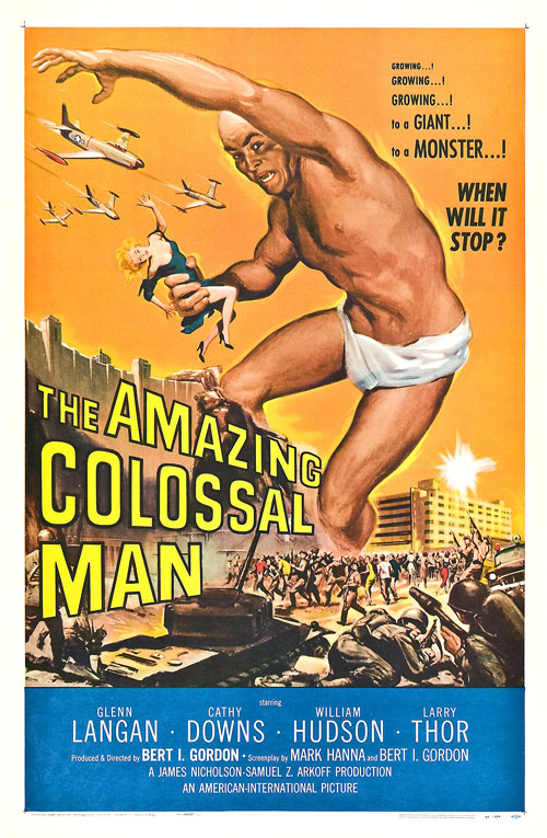 Us poster from the movie The Amazing Colossal Man