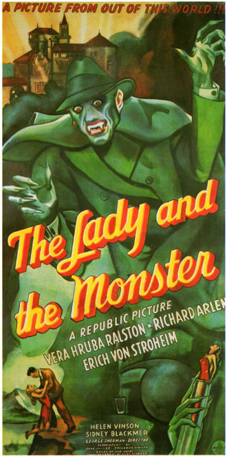 Us poster from the movie The Lady and the Monster