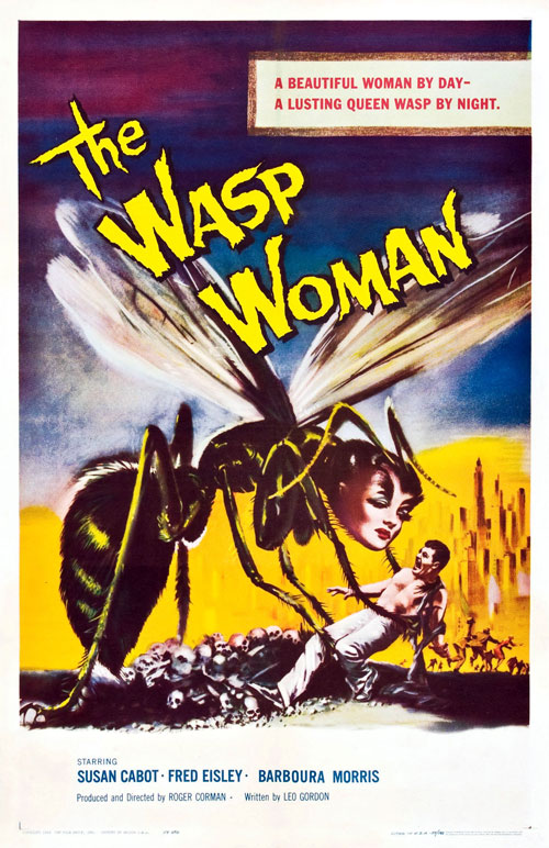 Us poster from the movie The Wasp Woman