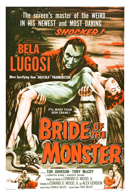 Us poster from the movie Bride of the Monster