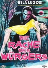German poster thumbnail from 'Bride of the Monster'