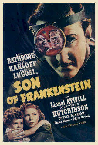 Unknown poster from the movie Son of Frankenstein