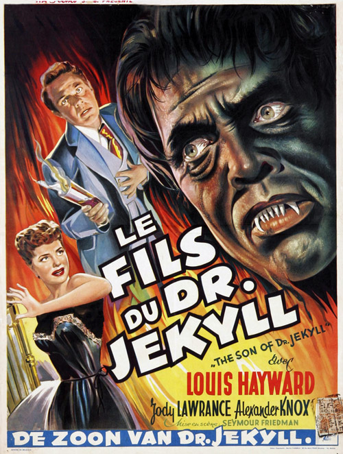 Us poster from the movie The Son of Dr. Jekyll