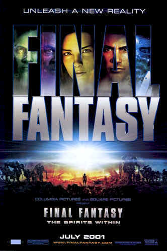 Affiche américaine de 'Final Fantasy'