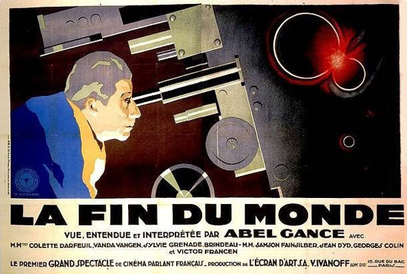 French poster from the movie The End of the World (La fin du monde)