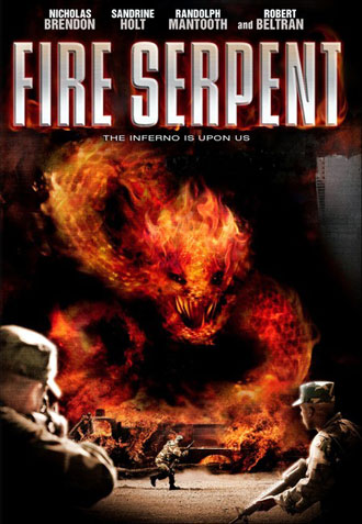 Us poster from the TV movie Fire Serpent