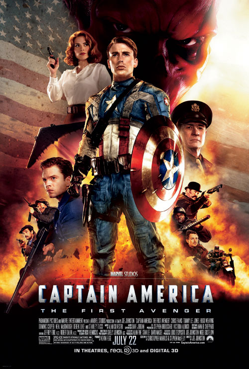 Us poster from the movie Captain America: The First Avenger