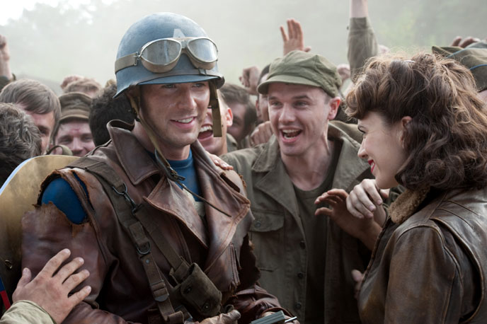 Photo de 'Captain America : First Avenger' - ©2010 Paramount - Captain America : First Avenger (Captain America: The First Avenger) - cliquez sur la photo pour la fermer