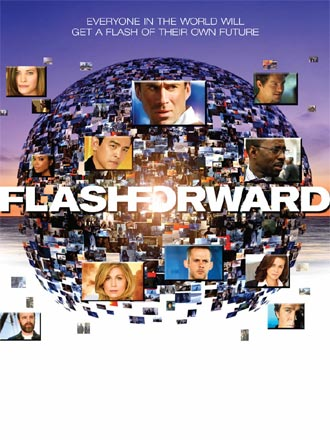 French poster from the series FlashForward