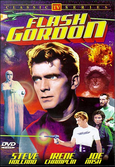 French poster from the series Flash Gordon