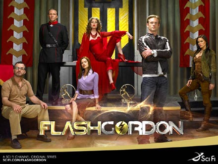 Affiche américaine de 'Flash Gordon'