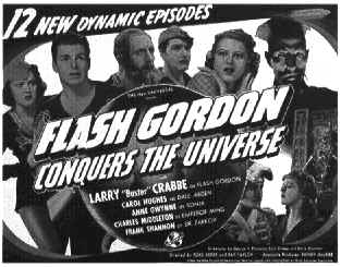 Affiche américaine de 'Flash Gordon Conquiert l'Univers'