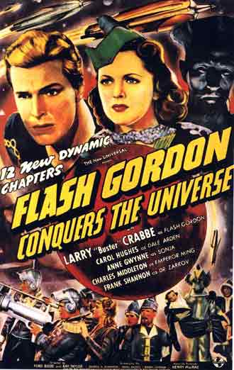Us poster from the series Flash Gordon Conquers the Universe