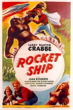 Affiche américaine de 'Flash Gordon : Rocketship'