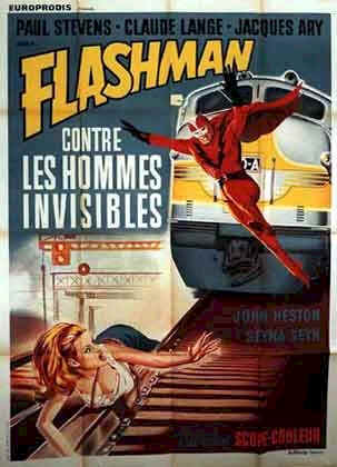 French poster from the movie Flashman