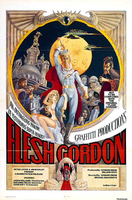 Us poster from the movie Flesh Gordon