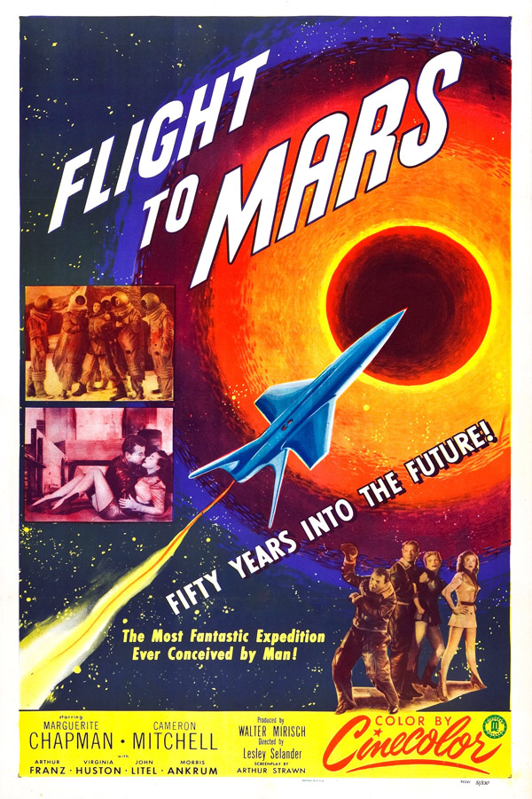 Us poster from the movie Flight to Mars