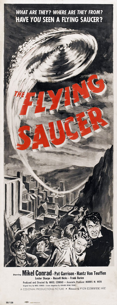 Us poster from the movie The Flying Saucer