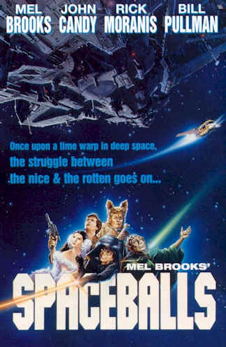 Us poster from the movie Spaceballs