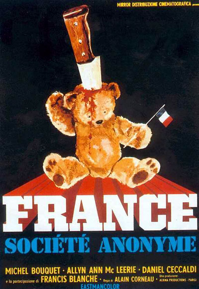 French poster from the movie France Inc. (France société anonyme)