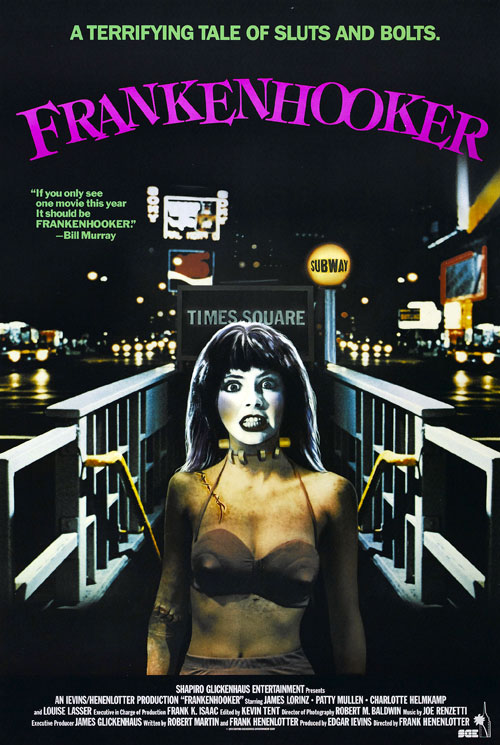 Us poster from the movie Frankenhooker