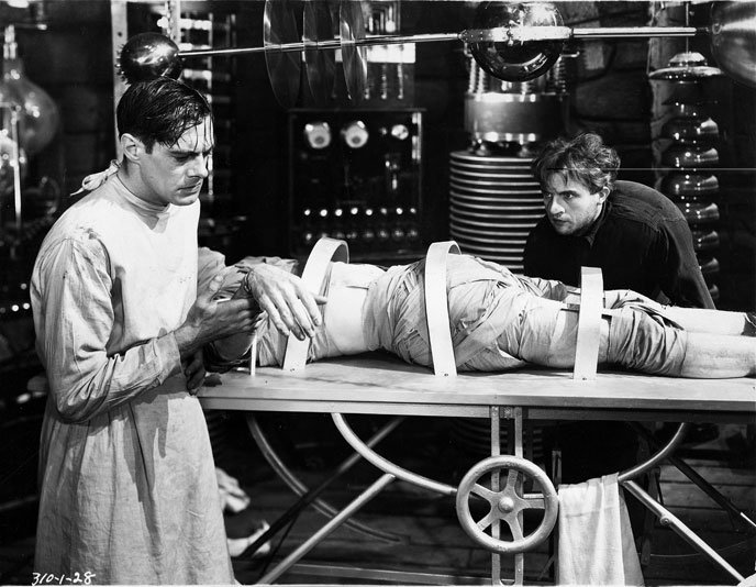 Laboratory young frankenstein movie sills