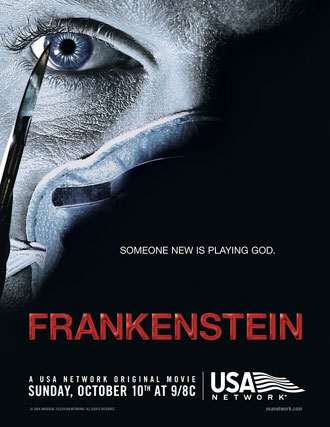 Us poster from the TV movie Frankenstein