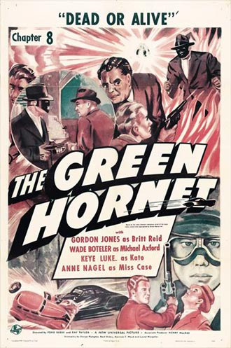 Us poster from the series The Green Hornet