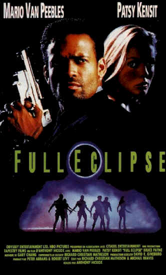 French poster from the TV movie Full Eclipse