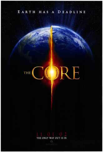 Us poster from the movie The Core