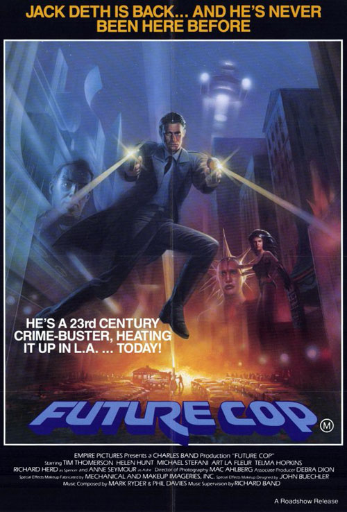 Us poster from the movie Trancers