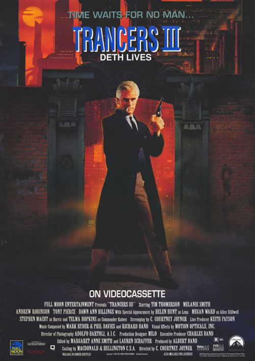 Us poster from the movie Trancers III
