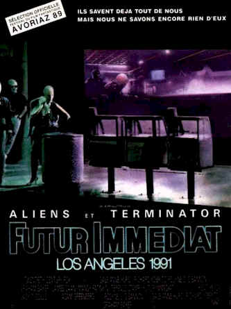 Affiche française du film Futur immediat : los Angeles 1991 (Alien Nation)