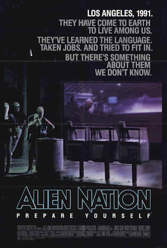 Us poster from the movie Alien Nation