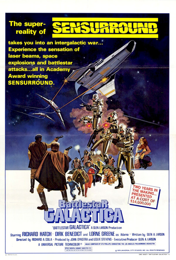 Unknown poster from the movie Battlestar Galactica