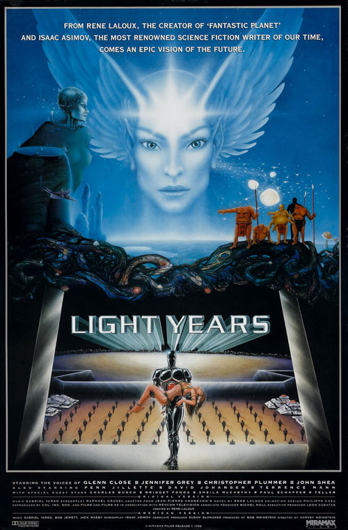 Us poster from the movie Light Years (Gandahar)