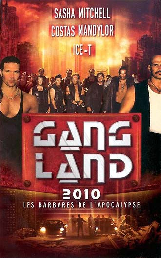 French poster from the movie Gangland