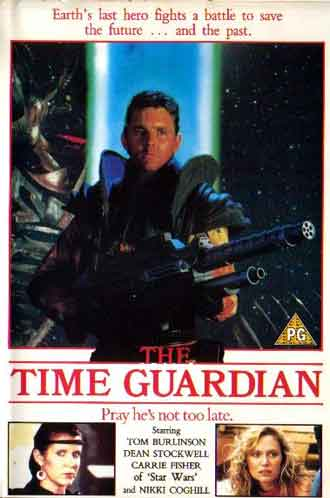 Australian poster from the movie The Time Guardian