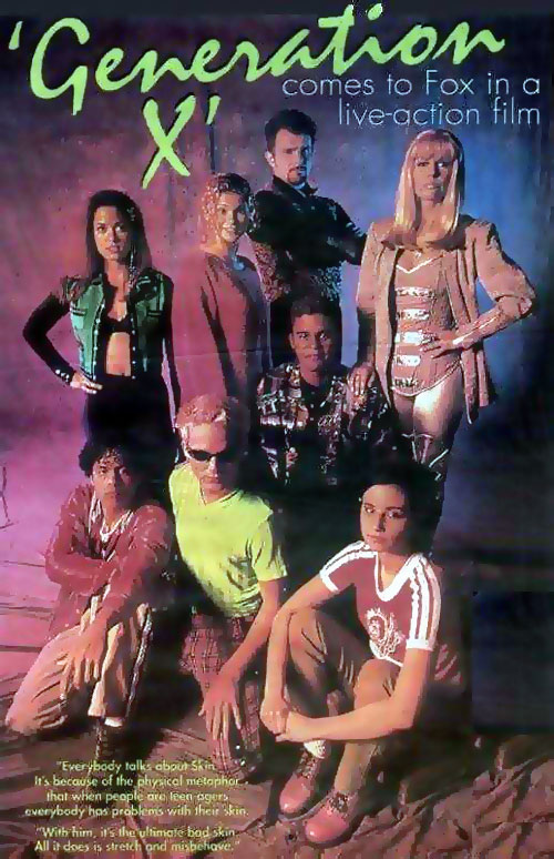 French poster from the TV movie Generation X