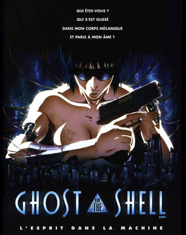 Affiche française de 'Ghost in the Shell'