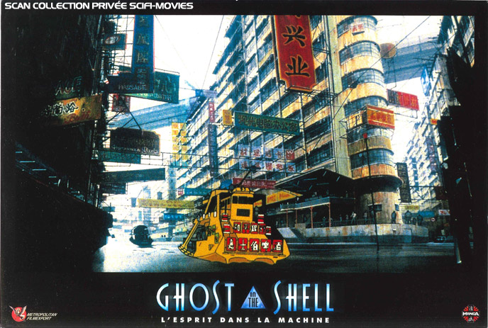 Photo de 'Ghost in the Shell' - ©1995 Bandai Visual Company - Ghost in the Shell (Kôkaku kidôtai) - cliquez sur la photo pour la fermer