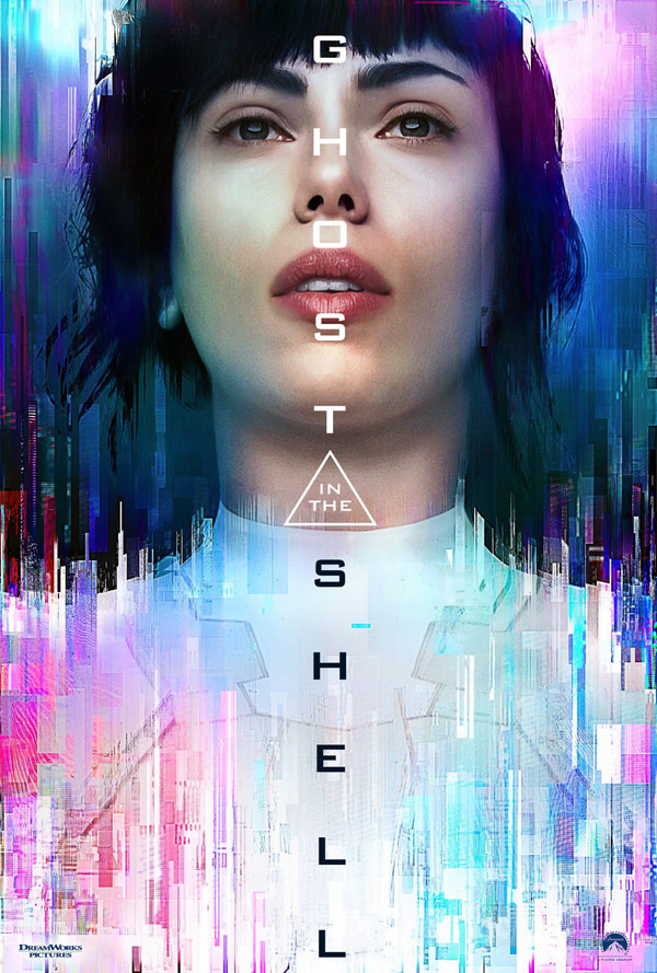 International poster from 'Ghost in the Shell'