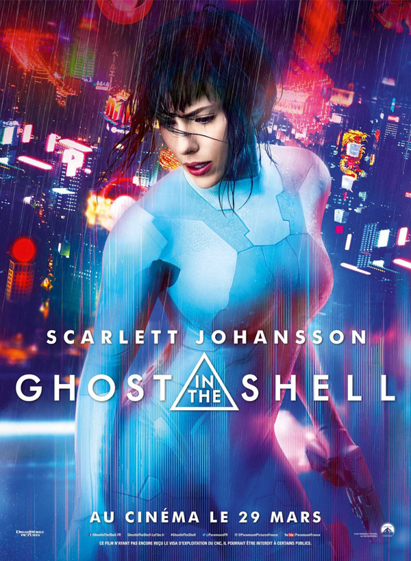 Affiche française du film Ghost in the Shell
